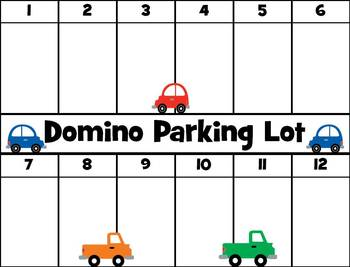 Domino Parking Lot Game