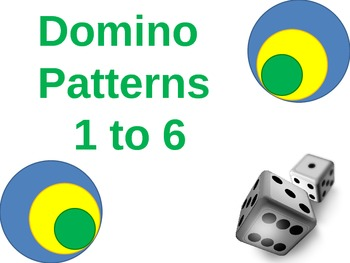 Domino Patterns 1 to 6, mixed