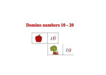 Domino numbers 10-20