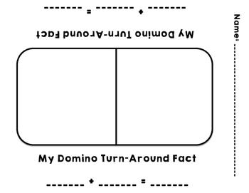 Dominoe Turn-Around Fact Fun!
