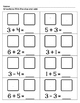 Addition & Subtraction with Dice - 8 Worksheets