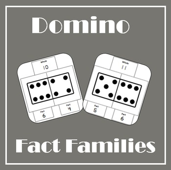 Dominos Fact Family Activity