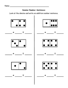Dominos math - addition