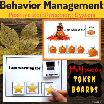 Halloween Token Reward Board - Autism and Special Ed Resource