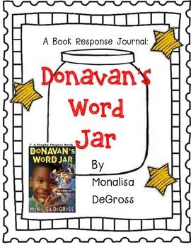 Donavan's Word Jar by Monalisa DeGross - A Complete Book R