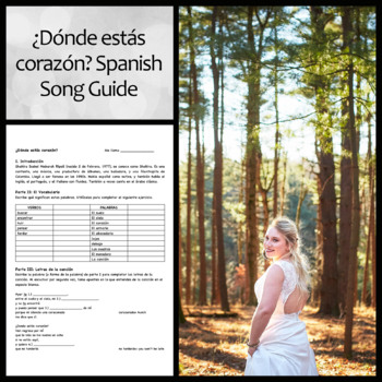 Donde Estas Corazon Song Guide and Questions