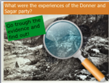 Donner Party and Sagar Party: what were their experiences