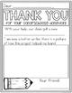 DonorsChoose Thank You Notes (Writing)