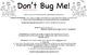 Don't Bug Me: Homophones Game