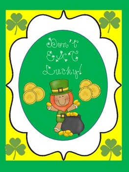 Don't EAT Lucky! (A St. Patrick's Day Game)