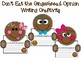 Don't Eat the Gingerbread Opinion Writing with Craftivity