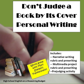Don't Judge a Book By Its Cover Personal Writing Narrative