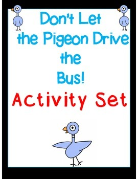 Don't Let the Pigeon Drive the Bus Activity Set (Common Co