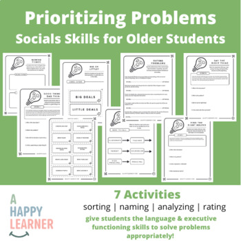 Don't Sweat the Small Stuff - Social Skills Activities for