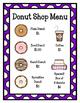 Donut Shop (Dramatic Play)