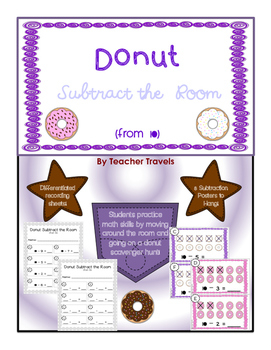 Donut Subtract the Room (from 10)