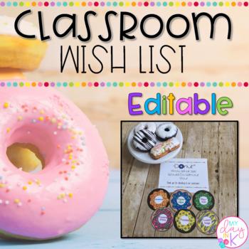 Class Wishlist
