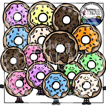 Donut Clipart Bundle