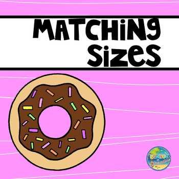 File Folder Game--Matching Sizes