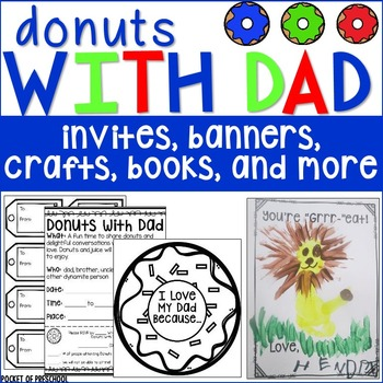 Father's Day Crafts and Donuts with Dad Event