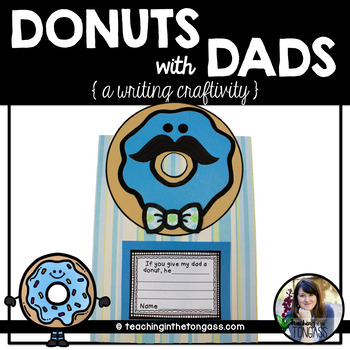 Donuts with Dads Craftivity Father's Day (Craft Activity)