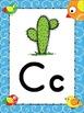 Doodle Boho Bird Themed Alphabet Posters Zaner Bloser Font