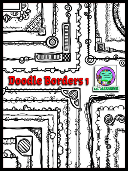 Doodle Borders 1 *Bargain Price* (Embellish Yourself Artworks)