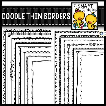 Doodle Thin Borders