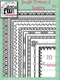 Doodle Borders & Frames Set 1 ~Dots of Fun Designs~