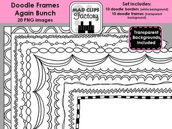 Doodle Frames Again {Set}