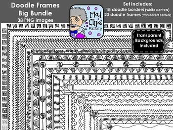Doodle Frames Big Bundle