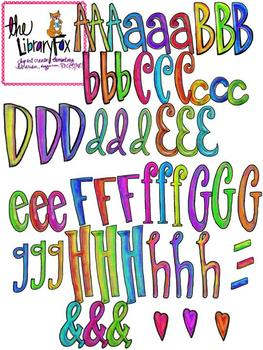Doodle Letters for Personal and Commercial Use Not a Font