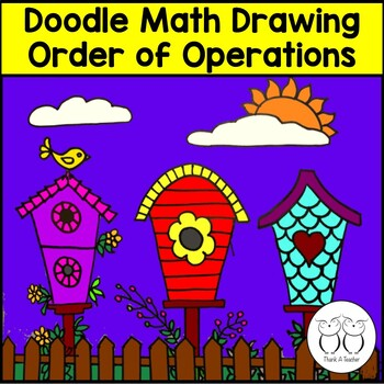 Order of Operations Math Art 4th CCSS Create a Picture Wit