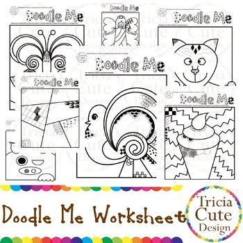 Doodle Me Doodling Worksheet