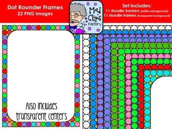 Doodle Rounder Dot Frames