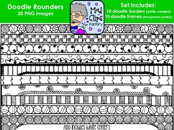 Doodle Rounders {Frames}