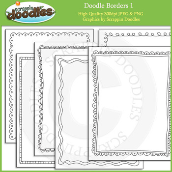 Doodles Borders 1