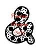 Doodles & Dots - Black & White - Alphabet Graphic Set