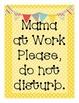 Door Signs for Nursing Teacher-Moms