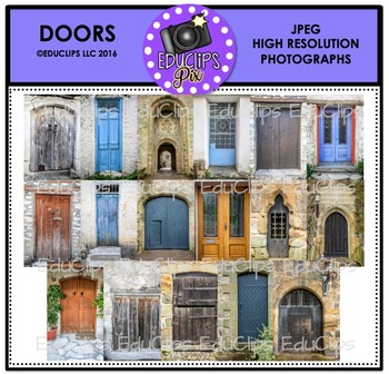 Doors Photo Set {Educlips}