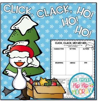 Doreen Cronin's Click Clack Ho Ho Ho ... Literary Companion