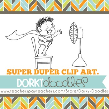 Dorky Doodles Logo for Products