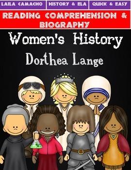 Women's History Month: Dorthea Lange