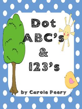 Dot ABC's & 123's Full Size