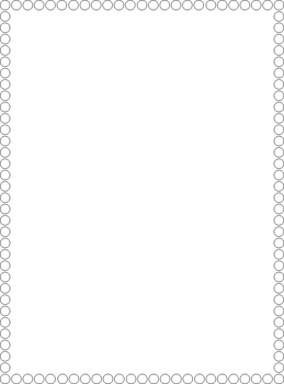 Dot Border Clip Art