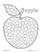 Dot Coloring Pages for the Beginning Letter Sounds ~ Alpha