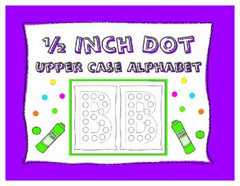 Dot-It Bingo Dauber Upper Case Alphabet Letter No Prep Wor