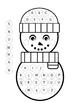 Dot Paint Winter Activity Pack