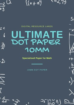 Dot Paper 10mm Black, Red and Blue
