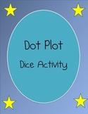 Dot Plot Dice Activity